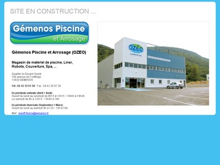 Ozeo annuaire apage for Piscine gemenos